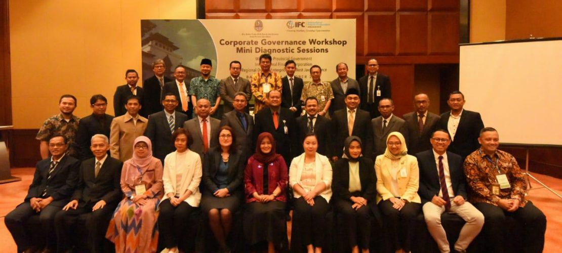 PT Migas Hulu Jabar berpartisipasi penuh pada hari pertama dalam acara International Finance Corporation and Regional Owned Enterprises of West Java Province yang dilaksanakan di Hotel Aryaduta Bandung